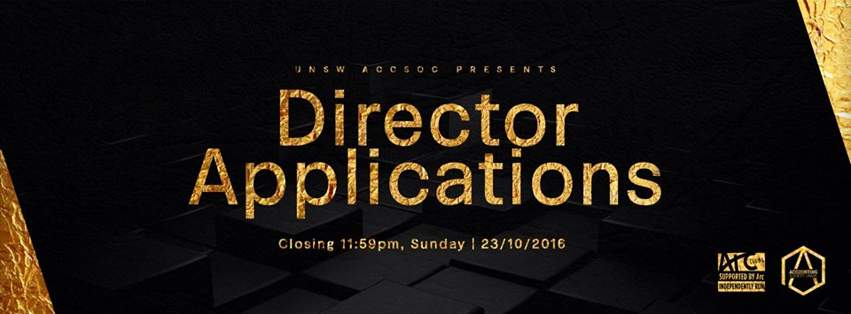 AccSoc Director Applications